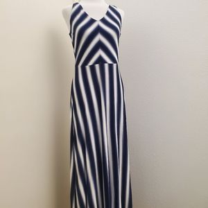 NWT Gap Factory Favorite Stripe Maxi Dress D15
